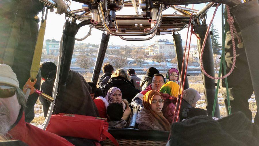 Voo de balão em Goreme, Capadócia, Turquia