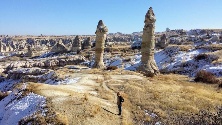 El Nazar valley, Goreme, Capadócia, Turquia