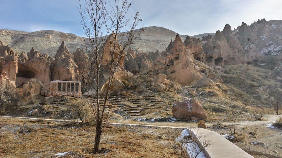 Museu a céu aberto de Zelve, Capadócia, Turquia