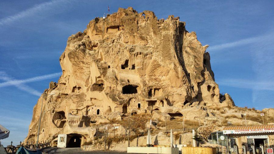 Castelo de Uchisar, Capadócia, Turquia