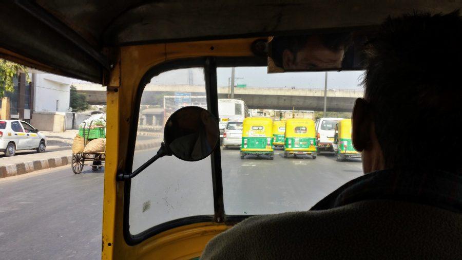 Tuk-Tuk Índia - Nova Delhi