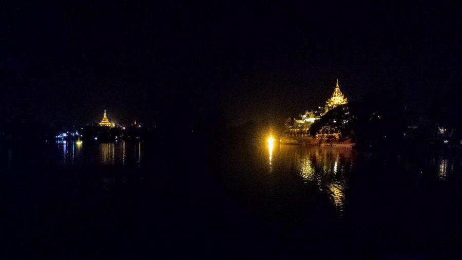Shwendagon Pagoda e Karaweik Palace