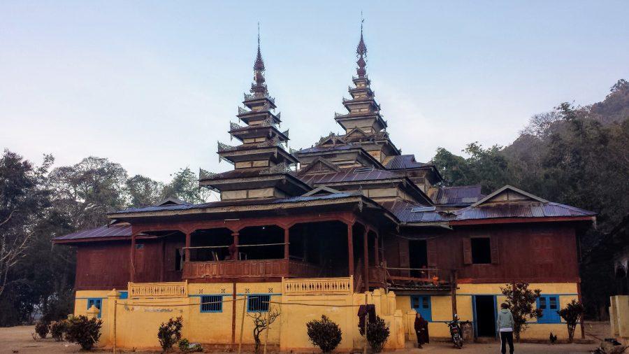 Monastério Myanmar