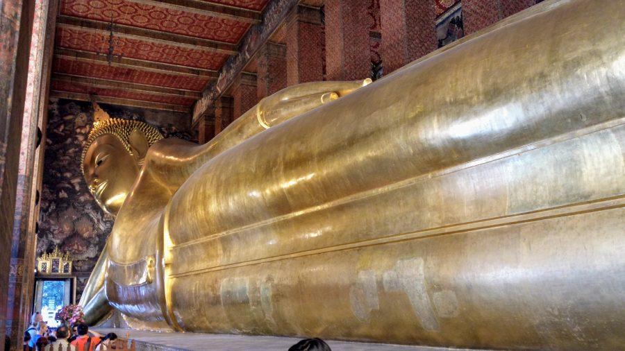 Buda deitado Bangkok