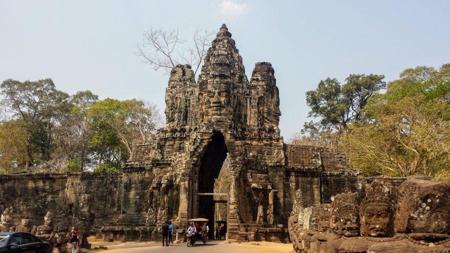 Portal de entrada para Angkor Thom