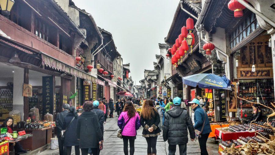 Tunxi - Old Street - Huangshan