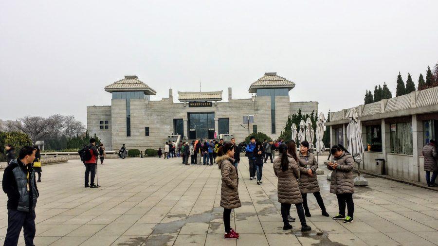 Entrada do museu com o Exército de Terracota - Xian
