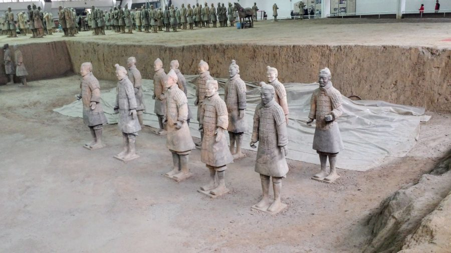 Exército de Terracota - Xian