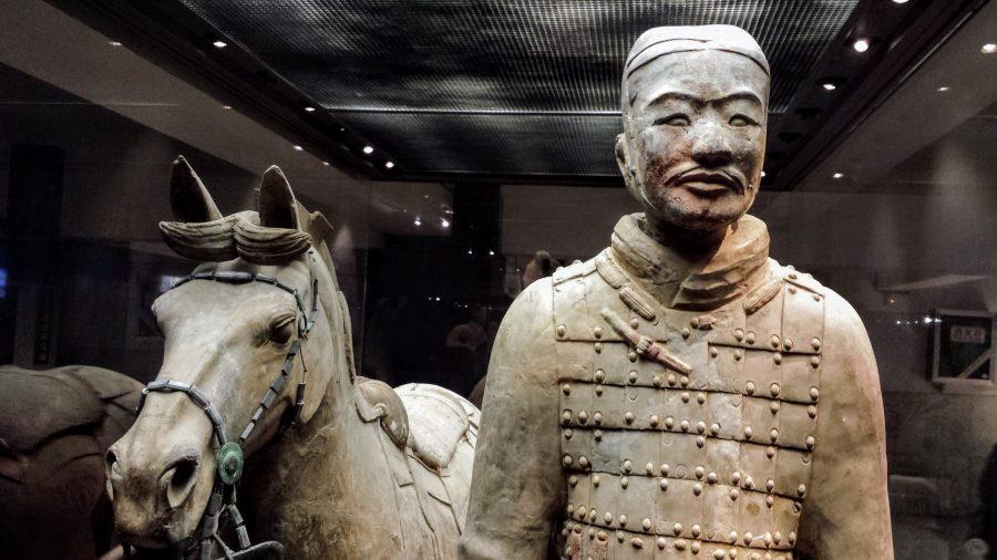 Soldado de terracota de Xian