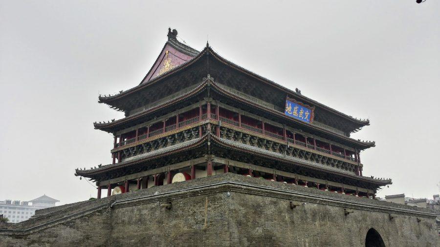 Torre dos tambores em Xian