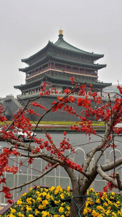 Torre do sino em Xian