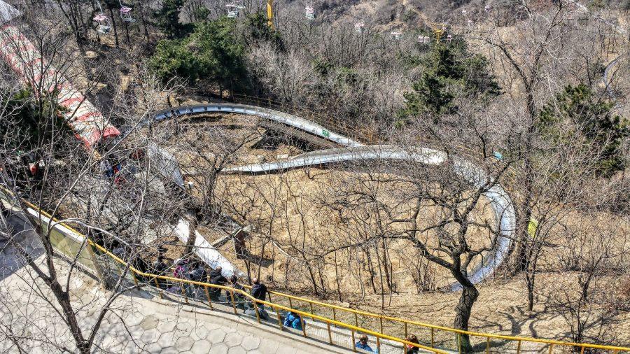 Tobogã muralha da China